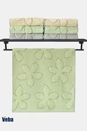 Luxusní ručník VEBA Primavera zelený