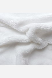 Mikroflanelové napínací prostěradlo bílé