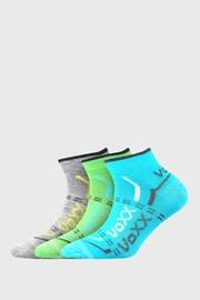 3 PACK chlapeckých nízkých ponožek VOXX