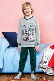 Chlapecké pyžamo Race zelené