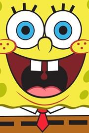 Spongebob gyermek törölköző