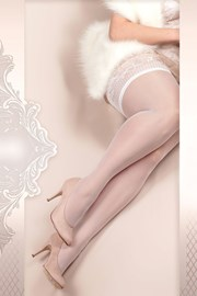 Luxusní samodržící punčochy Soft size 363