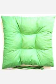 Poduszka na krzesło zielona