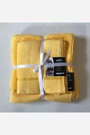 Dárková sada ručníků mikrobavlna žlutá