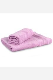Set 2 bambusových ručníků Moreno lila