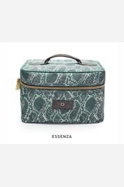 Kosmetický kufřík Essenza Tracy Solan zelený