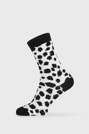 Dámské ponožky BlackWhite bílé