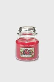 Yankee Candle gyertya Red Raspberry, közepes