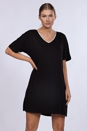 Dámská noční košile DKNY Black