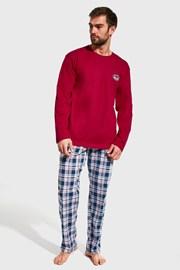 Piros színű férfi pizsama Yukon