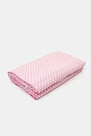 Luxusní deka Step růžová