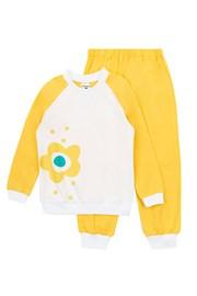 Dekliška pižama Flower Yellow