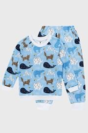 Fiú pizsama Star Blue