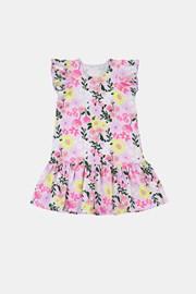 Dívčí šaty Flowers