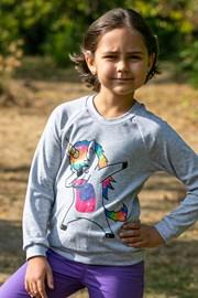 Dívčí slabá mikina Unicorn