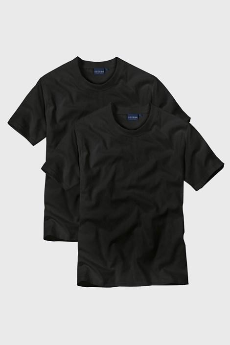 CECEBA 2pack pánských triček Black černá XXL