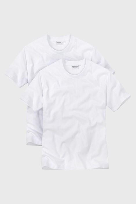 CECEBA 2pack pánských triček White bílá XXL