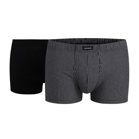 CECEBA 2 pack modalových boxerek Briefs černá XL