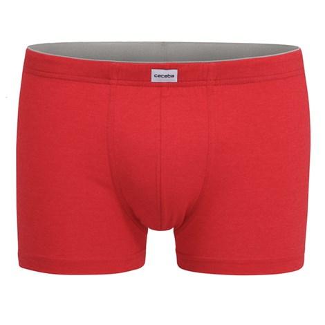 CECEBA Pánské boxerky CECEBA červené  3XL plus červená 4XL