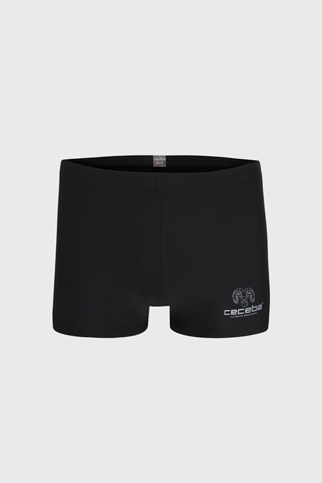 CECEBA Černé koupací boxerky Rio černá XL