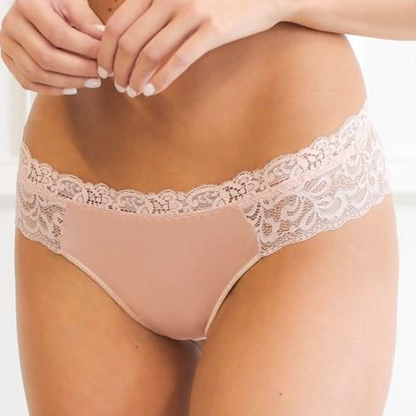 Miss Rosy Brazilky Pink Triangle růžová XL