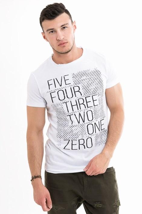 Mark Formelle Pánské tričko MF White bílá XXXL