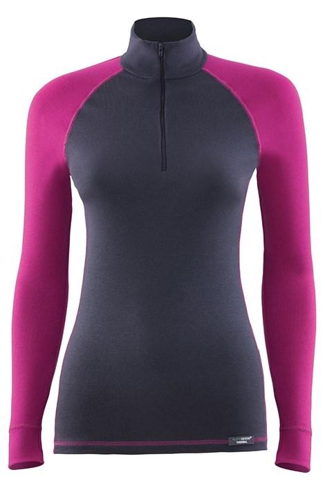 Blackspade Dámské funkční triko BLACKSPADE Thermal Sports antracitová XL