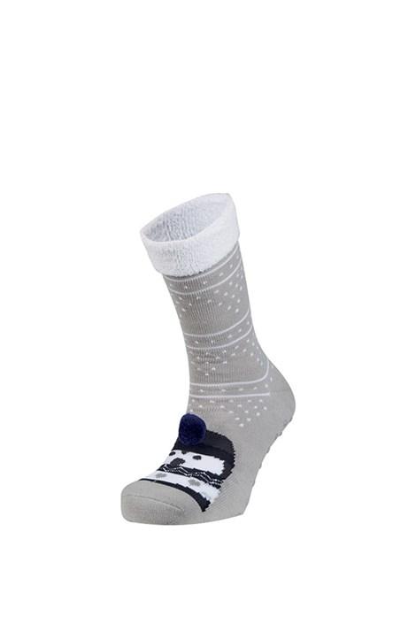 Ysabel Mora Hřejivé ponožky Rufa šedá uni