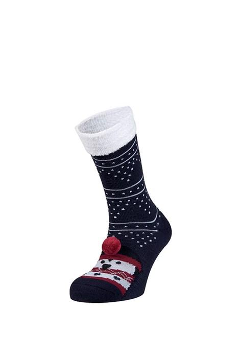 Ysabel Mora Hřejivé ponožky Rufa modrá uni