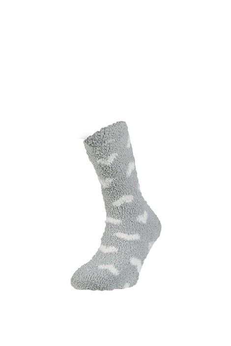 Ysabel Mora Hřejivé ponožky Trella šedá uni