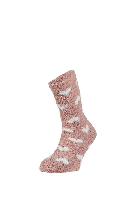 Ysabel Mora Hřejivé ponožky Trella růžová uni