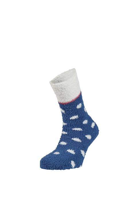 Ysabel Mora Hřejivé ponožky Seina modrá uni