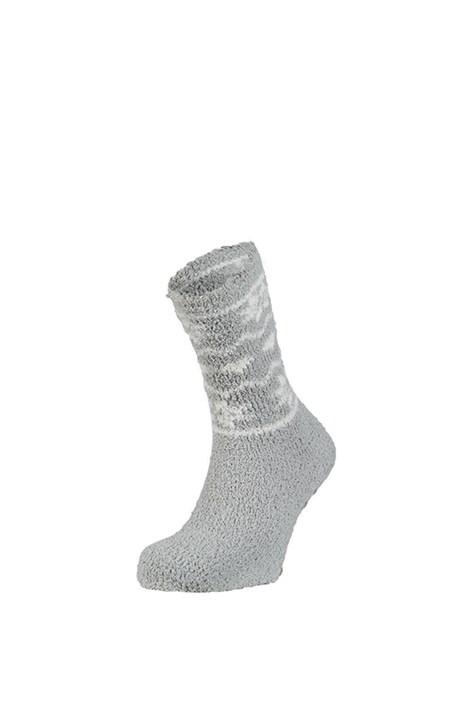 Ysabel Mora Hřejivé ponožky Zulma šedá uni