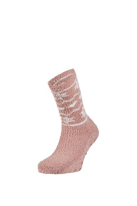 Ysabel Mora Hřejivé ponožky Zulma růžová uni