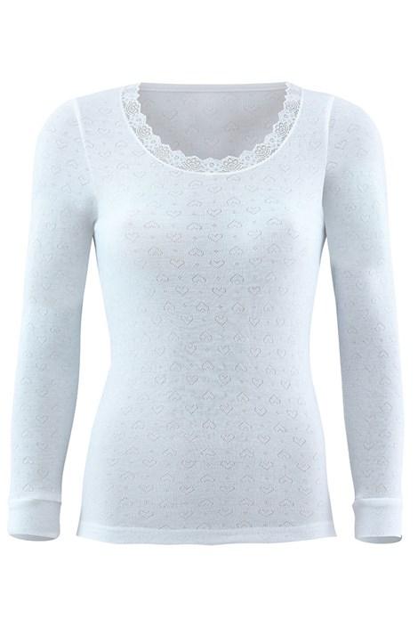 Blackspade Dámské funkční triko BLACKSPADE Thermal s dlouhým rukávem bílá XL