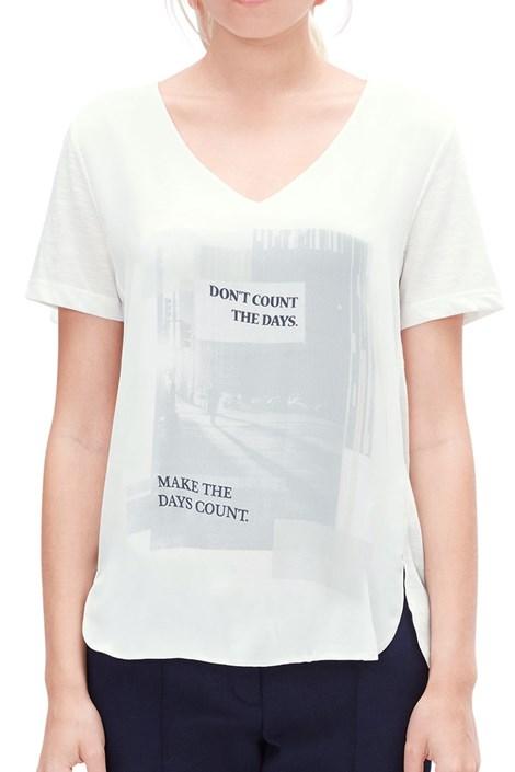 S.Oliver Dámské triko s potiskem V1 s.Oliver cream 42