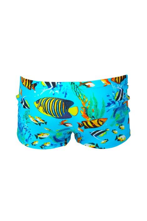 Lentiggini a Mila Swimwear Chlapecké plavky Fish modrá 98