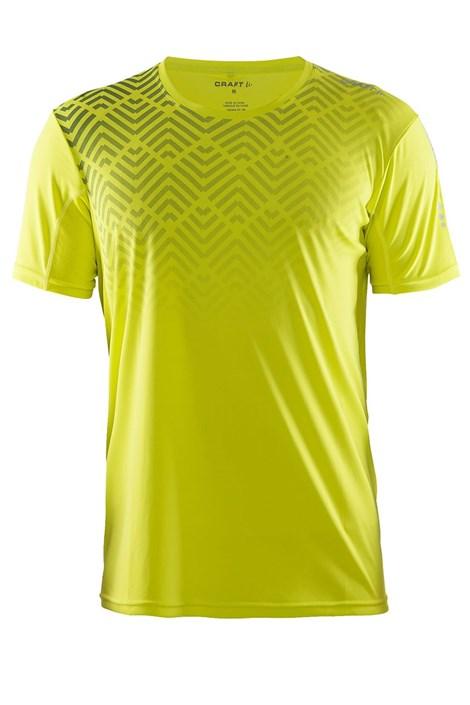 Craft Pánské funkční triko Craft Mind SS žluté žlutá S