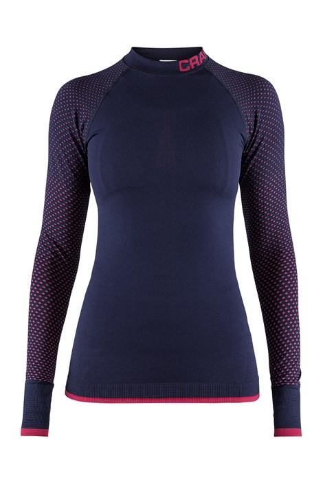 Craft Dámské triko CRAFT Warm Intensity Blue modrorůžová XS