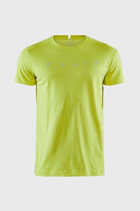 CRAFT Neonové tričko CRAFT Deft zelená XXL
