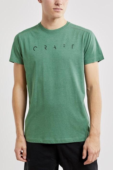 CRAFT Pánské tričko CRAFT Deft II tmavězelená XL