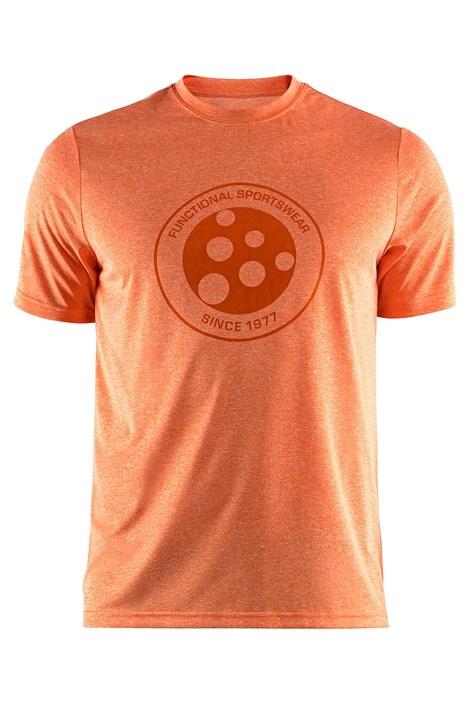 Craft Triko CRAFT Melange Graphic oranžové oranžová XXXL