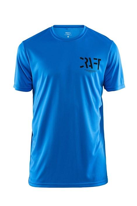 Craft Pánské triko CRAFT Eaze Graphic modrá XXL