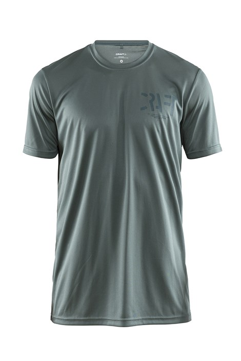 Craft Pánské triko CRAFT Eaze Graphic zelené zelená S