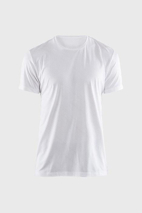 Craft Pánské triko CRAFT Essential bílé se vzorem bílá L