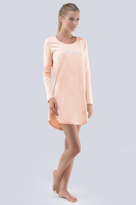 Gina Dámská noční košile Jessica meruňková XL