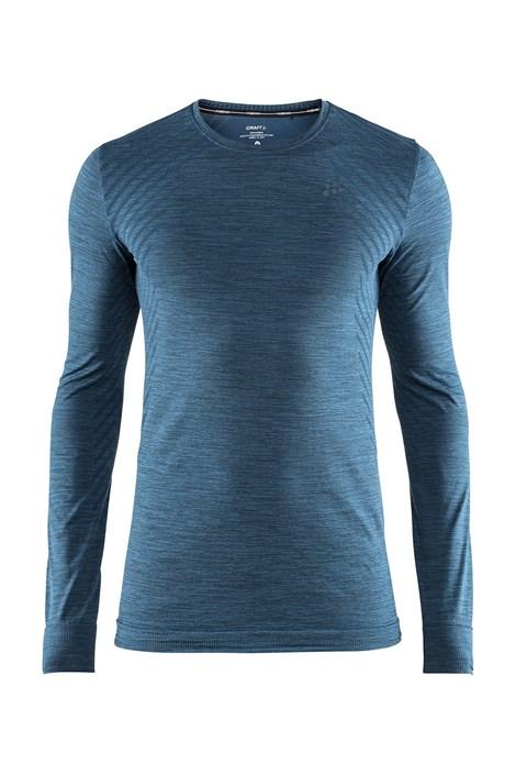 Craft Pánské triko CRAFT Fuseknit Comfort petrolejová XL