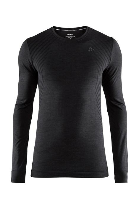 Craft Pánské triko CRAFT Fuseknit Comfort Black černá M