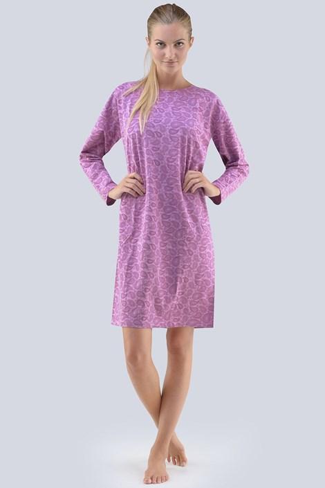 Gina Dámská noční košile Carol fialová fialová XXXL