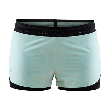 Craft Dámské šortky CRAFT Nanoweight Shorts světlezelená XXL